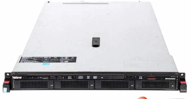 LENOVO THINKSERVER RD350 E5-2609V3 1.9GHZ 8GB NO HDD